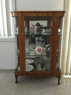Antique glass cabinet NEED IT GONE FAST ! Cecil Hills Liverpool Area Preview