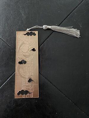 Fairyloot June 2021 Animal Companions Metal Bookmark Priory Of The Orange Tree
