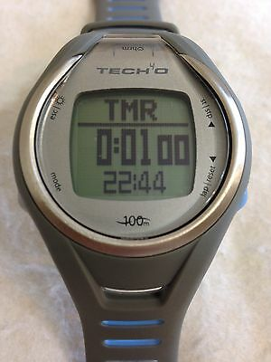 Tech4o Accelerator Pro Men's Watch Heart Rate Monitor Calorie Speed Monitor