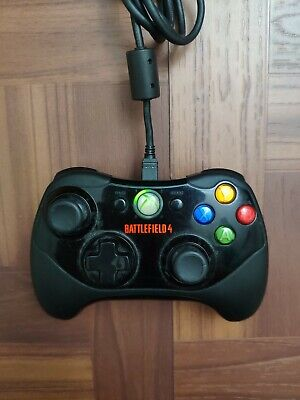 battlefield 4 xbox 360 official wired controller Used
