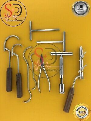 Wire Tightener Wire Passer K Wire Set 9 Pcs Orthopedic Instruments By Sd