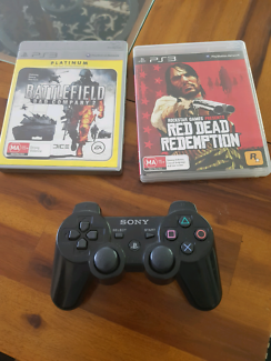 PS3 Games & Controller