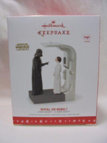 2016 Hallmark Keepsake Ornament Star Wars Royal Or Rebel A New Hope B24