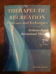 Therapeutic Recreation Processes and Techniques