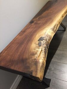 Black Walnut Bench or Table