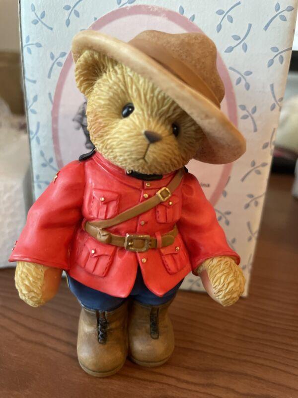 Cherished Teddies Constable Mackenzie Canadian Mountie Exclusive  #819727 NIB