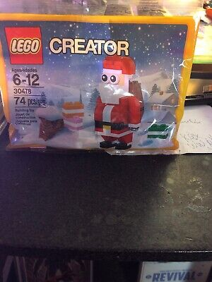LEGO Santa Claus Creator Series Christmas Poly Bag 30478 74