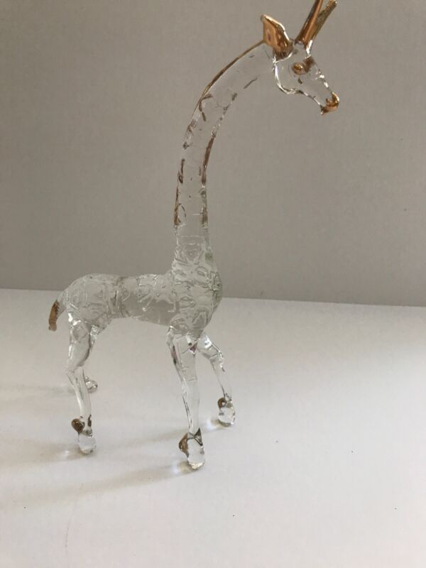 Hand Blown Glass Giraffe!!
