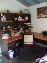 Express corner workstation desk with hutch East Victoria Park Victoria Park Area Preview