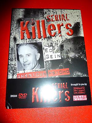 SERIAL KILLERS BOOK + DVD NO. 13 ED GEIN AMERICAN PSYCHO - Psycho Serial Killer Movies
