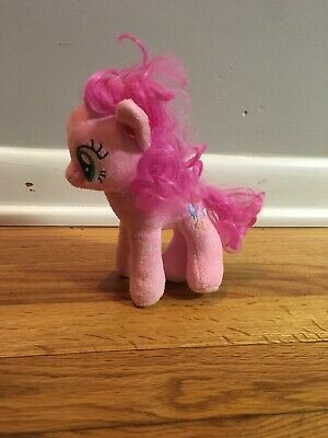 "6"" TY MY LITTLE PONY PINK PINKIE PIE BALLOON STUFFED ANIMAL PLUSH TOY SOFT SMALL"