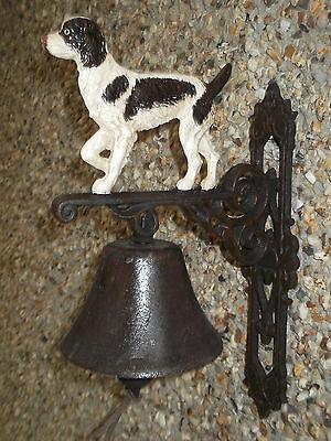 Springer / SPANIEL Outside bell... would make a lovely gift.  Loud Ring