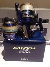 Daiwa Saltiga Game 3500 + Saltiga Game Spool Pooraka Salisbury Area Preview