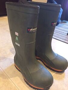 Baffin steel toe rubber boots