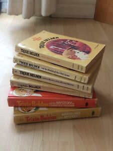 Trixie Belden vintage books.