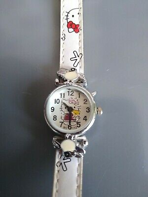Vintage Girls Hello Kitty Wrist Watch