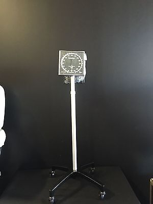 Welch Allyn Tycos 509 Aneroid Sphygmomanometer With Cuff And Mobile Stand