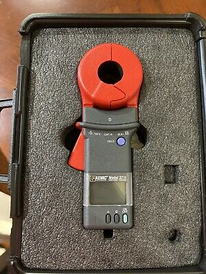 Aemc 3711 And 3731 Clamp-on Ground Resistance Tester Whard Pelican-style Case