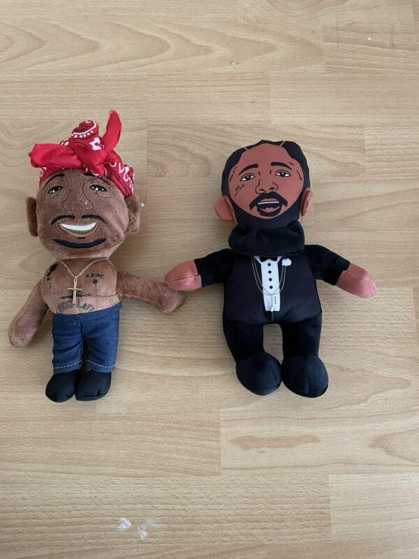 Tupac And Nipsey Hussle Plush Dolls
