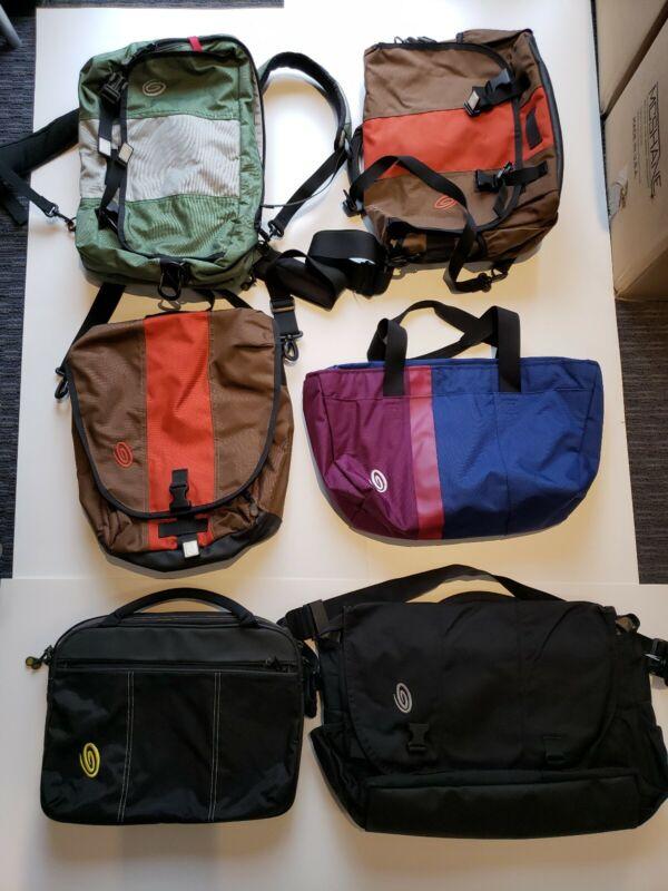 Timbuk2 bags, Bulk lot 15 bags, New/Samples/Used