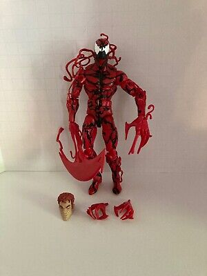 "Marvel Legends CARNAGE Loose Monster Venom BAF Wave 6"" Figure Spiderman COMPLETE"