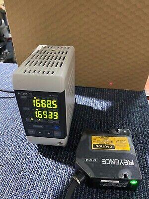 Keyence Lk-g152 Laser Displacement Sensor W Lk-g3001 Controller Lk-gd500 Panel
