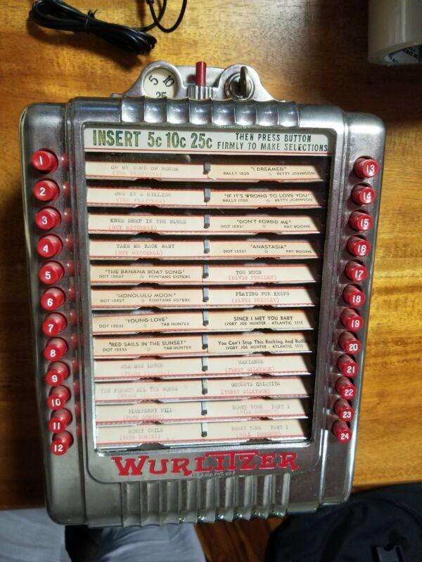 WURLITZER Multi-Selector Wall Box Model 3020