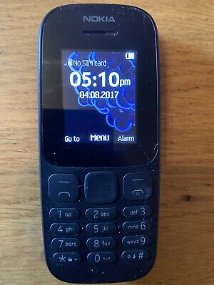 Nokia 105 2017 Edition - Black (Unlocked) Mobile Phone