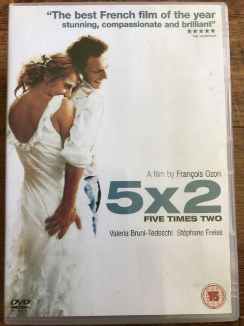 Stephane Freiss Valeria Bruni Tedeschi 5 X 2 ~ 2004 Ozon French Drama UK DVD