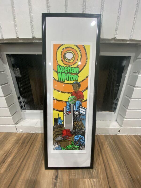 Sean Cliver Blind Keenan Milton Screen Print Poster Signed 101 skateboard world
