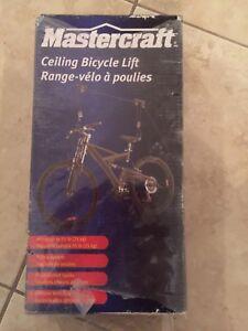 Range vélo à poulie