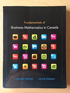 Fundamentals of Business Mathematics in Canada used textbook