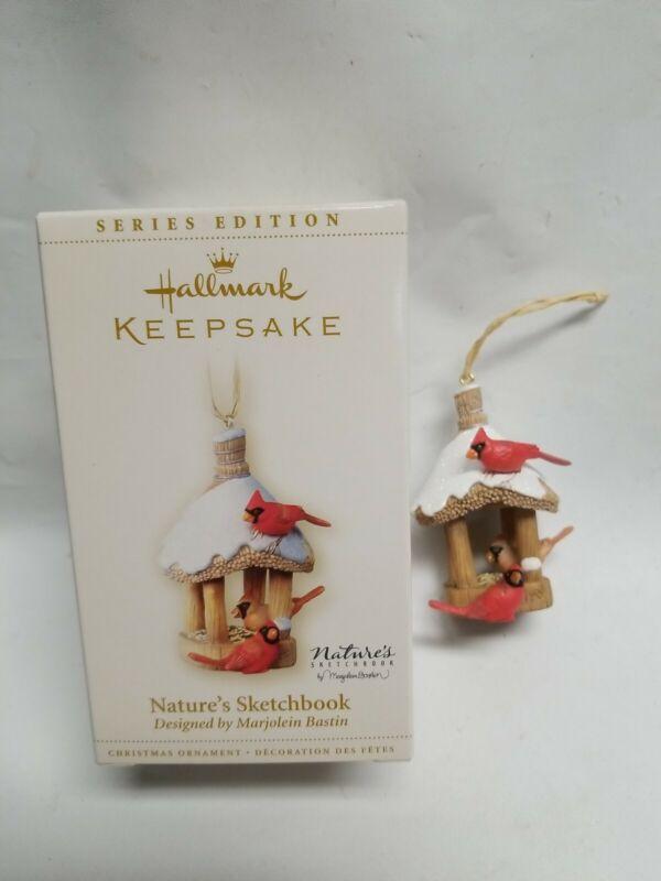 HALLMARK READY SET GROW 2006 CHRISTMAS KEEPSAKE ORNAMENTS GARDEN TREE CARDINAL