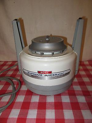 Acme Juicerator Base Motor - Model 5001 - Works!!