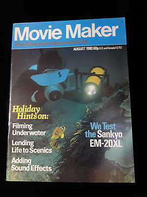 Movie Maker Magazine  August 1980  Like New