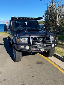 2019 Toyota Landcruiser Gxl (4x4) 5 Sp Manual Double C/chas