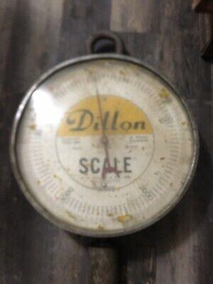 Vintage Dillon 5000-lbs Crane Scale Industrial Heavy Duty