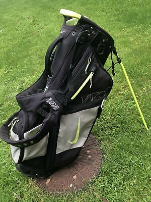 Nike Air Vapor Golf Stand Bag -14 Way Divider Black- Volt Colour/Rare/Collectors