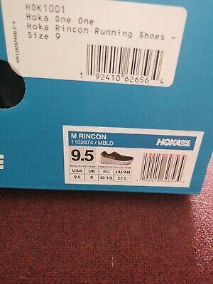 Mens Hoka One One - Hoka Rincon Running Shoes - UK 9 Majolica Colour