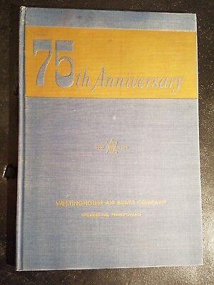 Westinghouse Air Brake Company 75Th Anniversary 1986 1944 George Blackmore Card