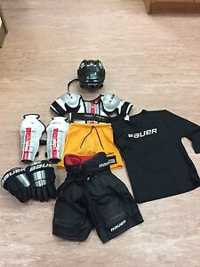 Bauer Youth Hockey gear