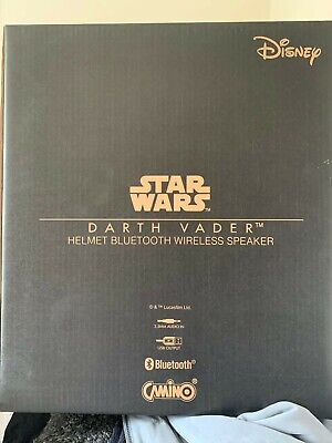 Giant Star Wars Darth Vader Helmet Bluetooth Wireless Speaker RRP £300 Disney