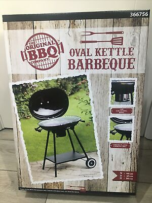 Oval Kettle Barbeque BBQ
