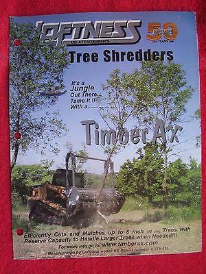 Loftness Timber Ax Tree Shredders Brochure