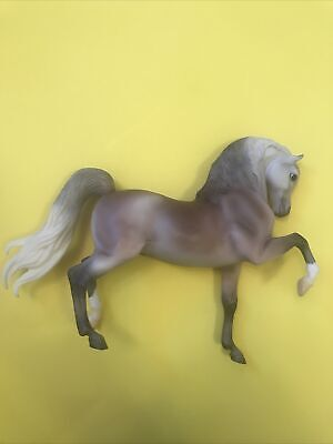 Brown, Gray, And White Breyer Reeves Horse