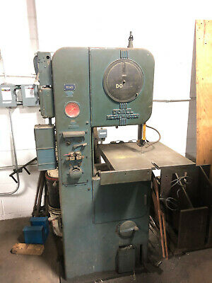 Doall Metal Master Vertical Band Saw