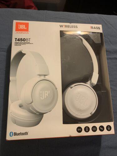 JBL T450BT Wireless Bluetooth Headphones - White - $25.00