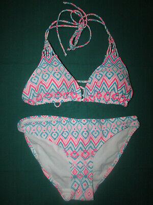 Janina Neckholder Bikini Gr. S 36/38 Damen Mädchen Teenager Bademoden Badeanzug