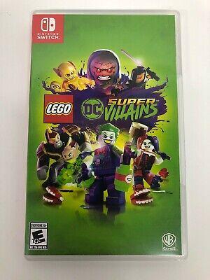 LEGO DC SUPER-VILLAINS (NINTENDO SWITCH, 2018)