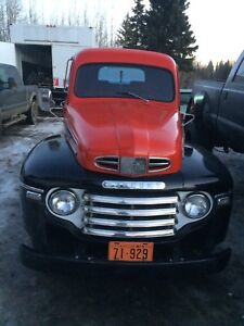 1950 Mercury 2 ton truck rolling chassis (NO ENG/TRANS)
